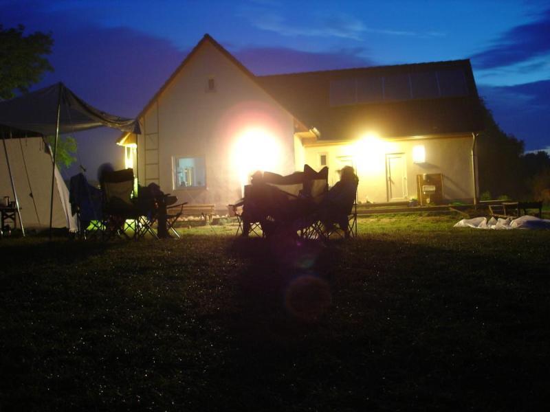 Abendstimmung auf dem Zeltplatz