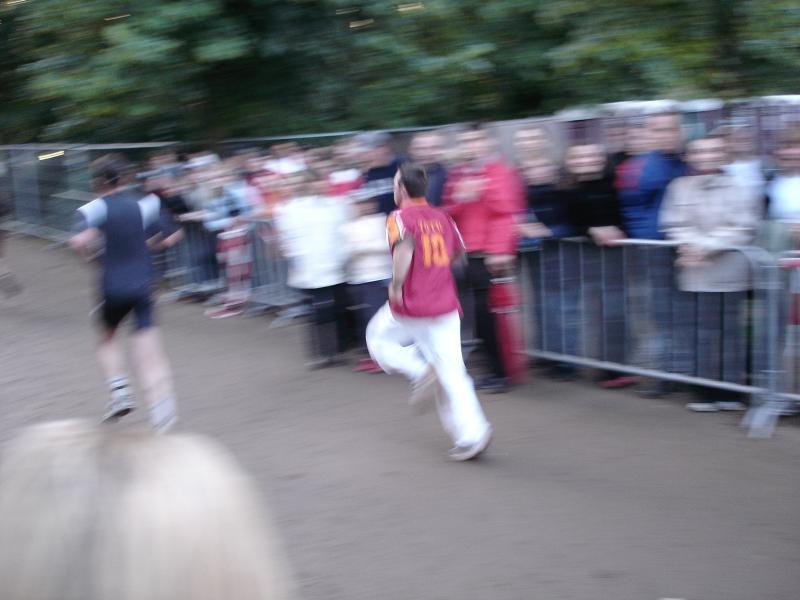 André lief schneller, als der Fotograf die Kamera zücken konnte.