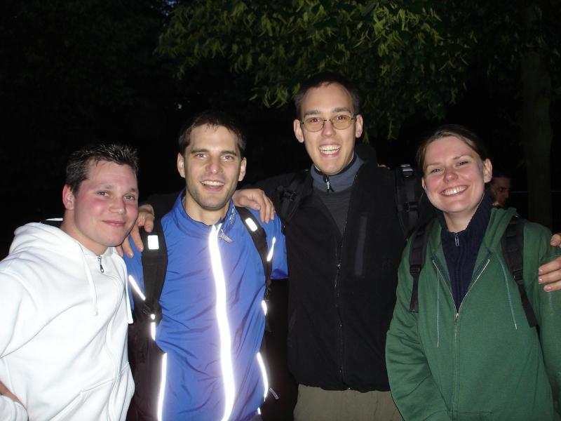 Das 'Don Bosco, Leiter'-Team, leider ohne Tommy, der fotografiert hat.