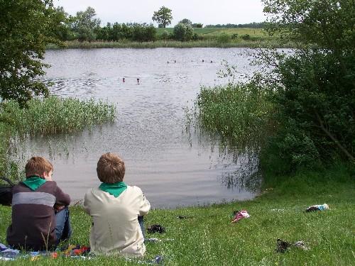 Am See beim Zeltplatz
