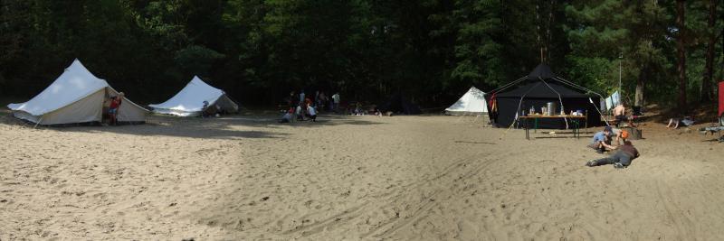 Der Zeltplatz